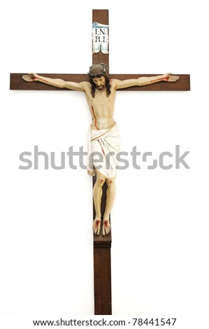 Crucified Jesus Christ - stock photo