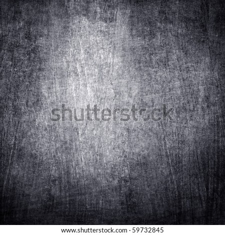 crude iron plate - stock photo