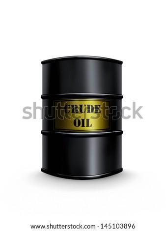crude oil - stock photo
