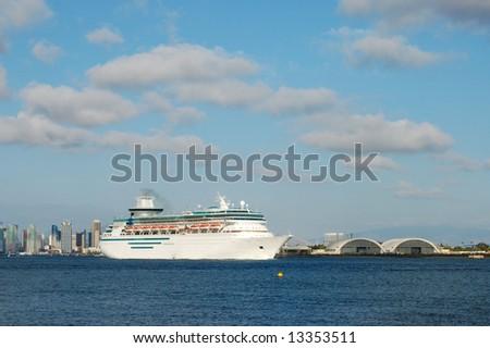 California Cruise Diego San Ship Stock Photos Royalty