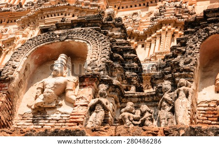 Crumbling crumbling statue stock images, royalty-free images & vectors