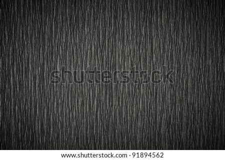 Crumpled Black Paper texture. See my portfolio for more - stock photo