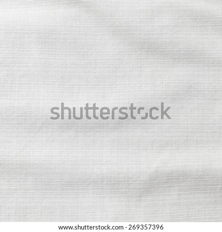 Crumpled fabric texture use for background - stock photo