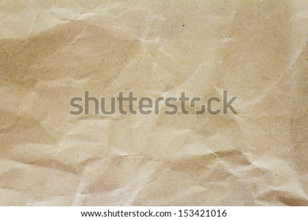 Crumpled paper background - stock photo