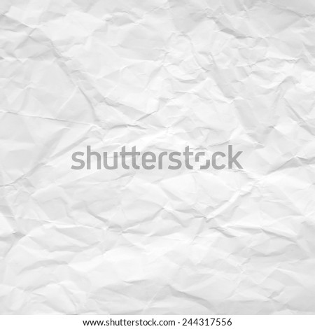 crumpled paper background texture - stock photo