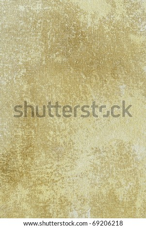 Crumpled paper texture with scratches - stock photo