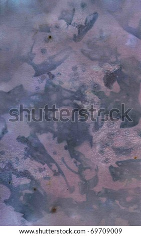 Crumpled paper texture with scratches and stains - stock photo
