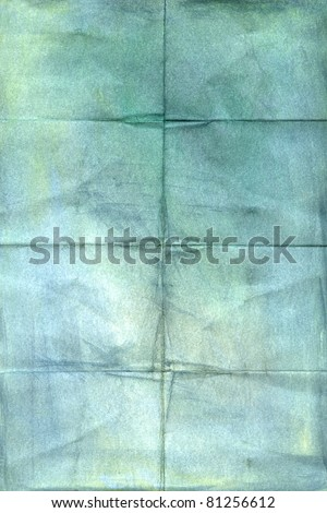 crumpled vintage paper  background - stock photo