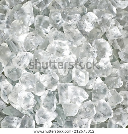 Crushed ice background  - stock photo