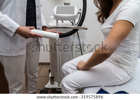 cryotherapy -  nitrogen therapy - stock photo
