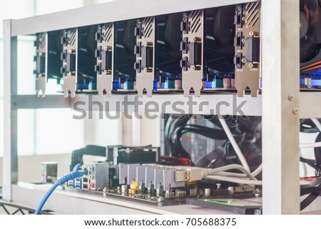 Mining Rig With Different Gpus Coin Mining Warehouse – Superate