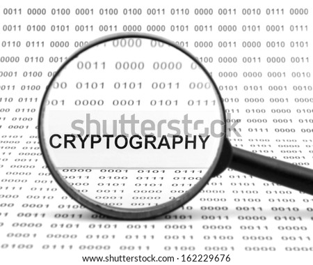 Cryptography - stock photo