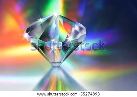 crystal - stock photo