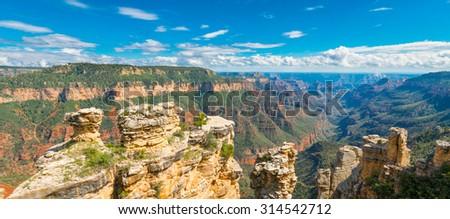 Crystal Canyon, Grand Canyon National Park, AZ - stock photo