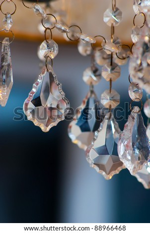 Crystal Chandelier - stock photo