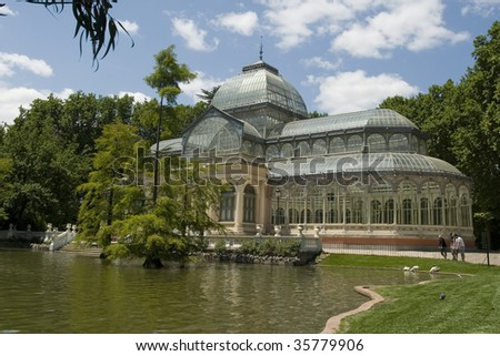 Crystal Palace Madrid - stock photo