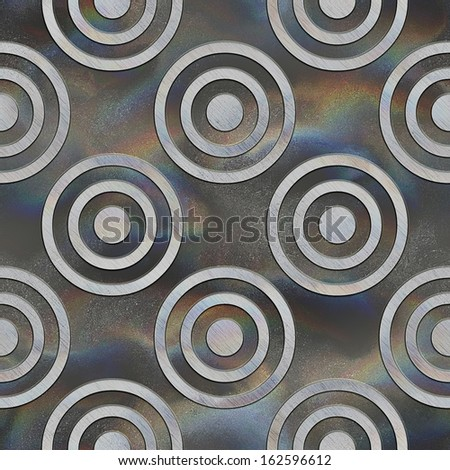 Crystal pattern. Seamless texture.