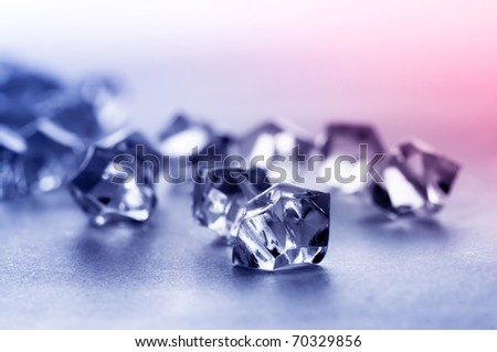 crystal stone - stock photo