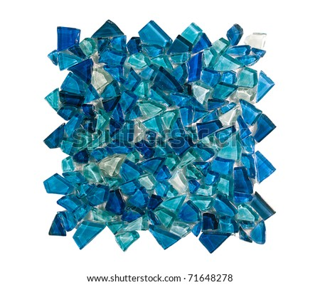 Crystal wall and floor tile for your decoration and idea how to decorate with it - stock photo
