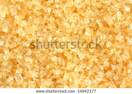Crystalline sugar for foods and drinks. Very good smell. - stock photo