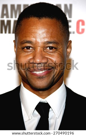 Cuba Gooding Jr. at the American Cinematheque 27th Annual Award Presentation held at the Beverly Hilton Hotel in Los Angeles, United States, 121213.  - stock photo