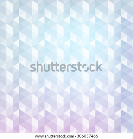 Cube abstract background - stock photo