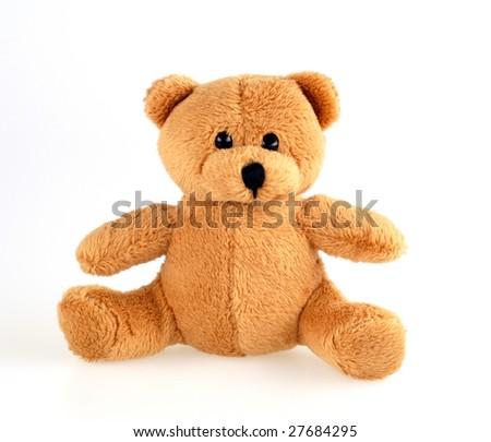 cuddle- teddy bear - stock photo