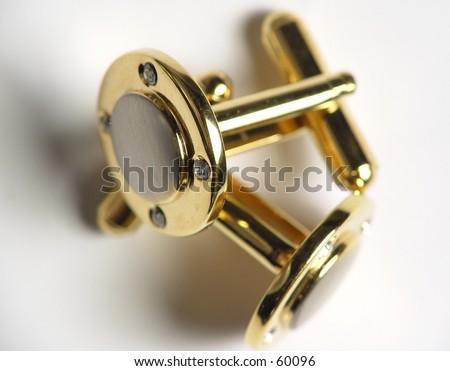 Cuff Links - stock photo
