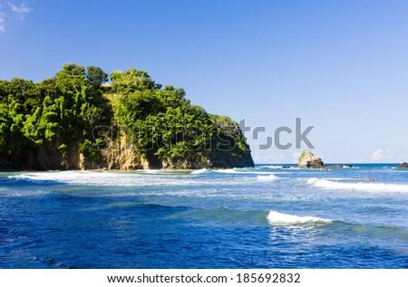 Culloden Bay, Tobago - stock photo