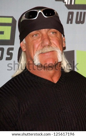 CULVER CITY, CA - DECEMBER 02: Hulk Hogan at the VH1 Big in '06 Awards on December 02, 2006 at Sony Studios, Culver City, CA. - stock photo