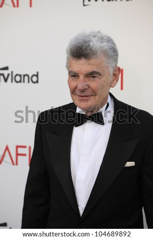 CULVER CITY - JUN 7: Richard Benjamin at the 40th AFI Life Achievement Award honoring Shirley MacLaine held at Sony Pictures Studios on June 7, 2012 in Culver City, California - stock photo