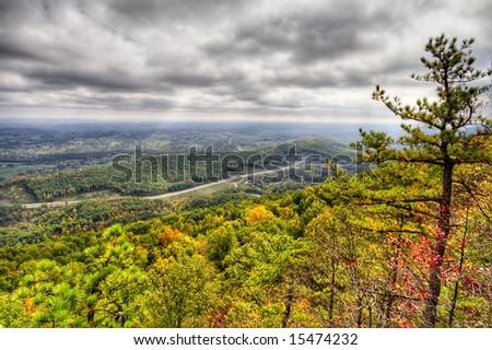 Cumberland Gap - stock photo
