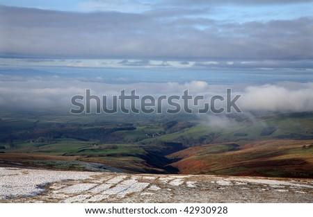 Cumbria England - stock photo