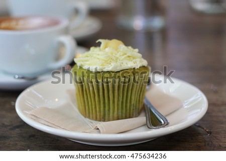 cup cake, sweet cup cake on the delicious menu.