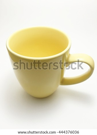 cup has ear - stock photo