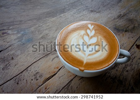 cup of coffee - stock photo