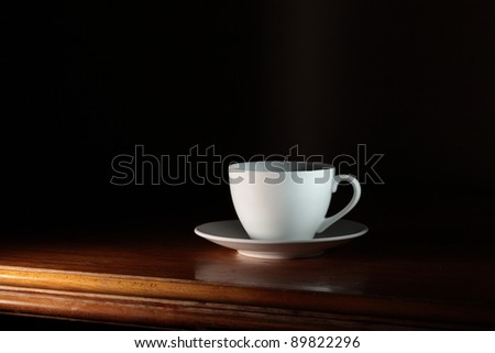 Cup of coffee. - stock photo
