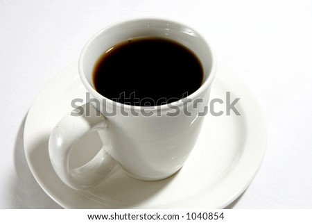 Cup of Joe - stock photo