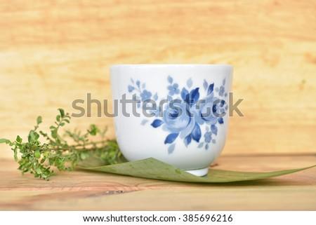 Cup of tea  - stock photo