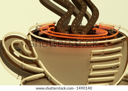 cup of tea(special photo f/x) - stock photo
