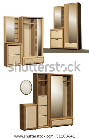 cupboard - stock photo