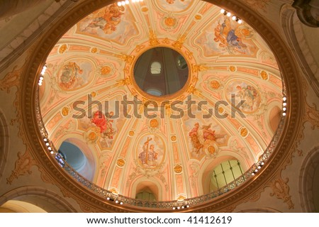 cupola of the church of our Lady in Dresden