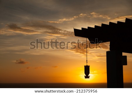 Curacao a tropical  island in the Caribbean Netherland Antilles  - stock photo