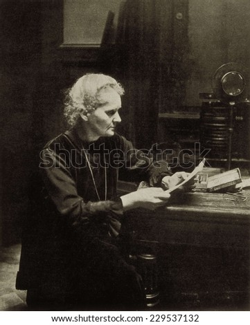 CURIE, Marie (1867-1934)