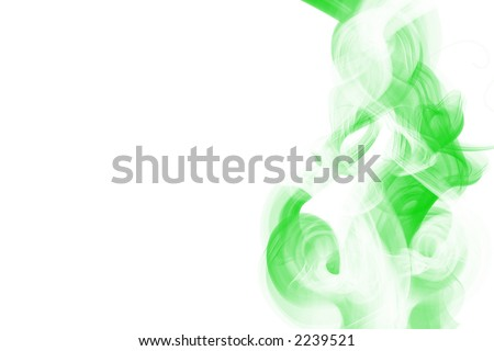 curly background - stock photo