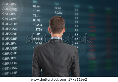 Currency Exchange Rate - stock photo