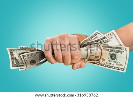 Currency Wealth. - stock photo