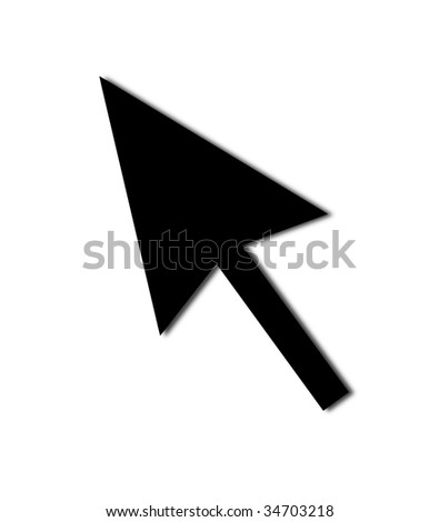 Cursor Arrow for the use with mouse or other pointer.