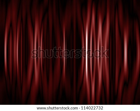 Curtain background with folds and creases �¢?? a great backdrop