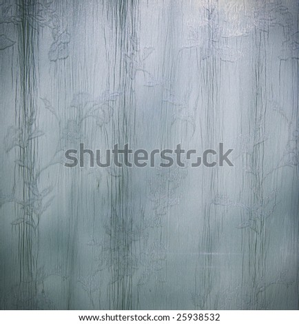 Curtain/Drape texture in flowing blue and green tones